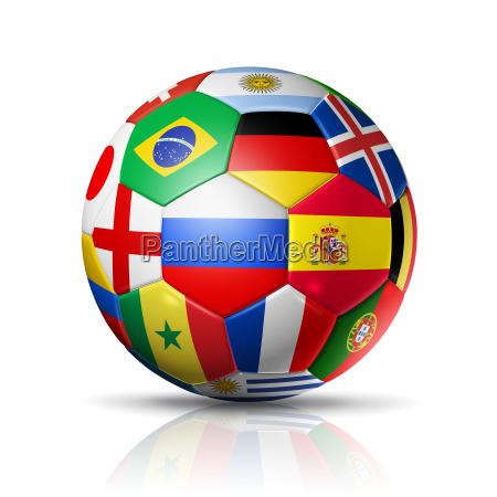 russia 2018 esfera de futebol do