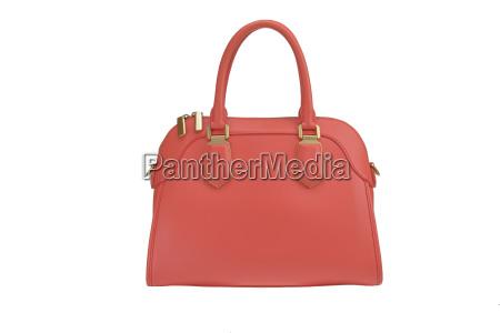 bolsa mulher mulheres couro vermelho saco