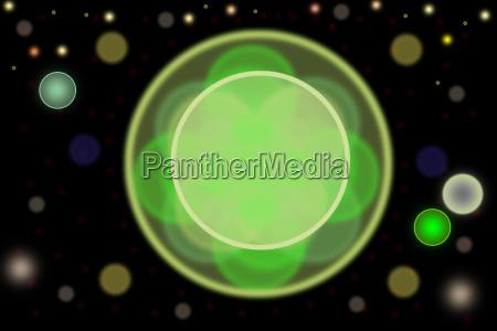 azul verde centro circulo abstracto circulos