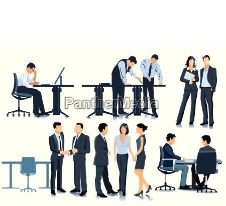 planejamento e reuniao no escritorio
