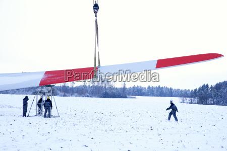 pessoas povo homem inverno power station