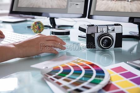 secretaria grafico camera fotografia tecnologia desenhista