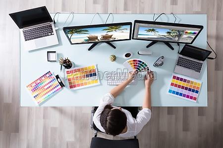 secretaria cor grafico camera fabrica fotografia