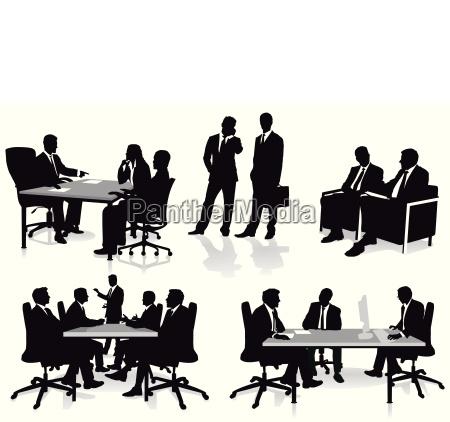 reuniao e consulta no escritorio