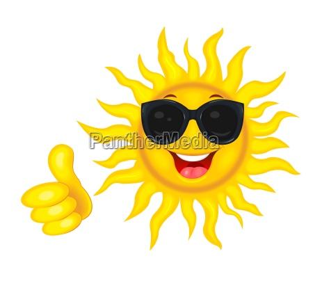 o sol esta em oculos de