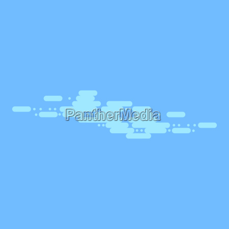 blue sky with white clouds vector