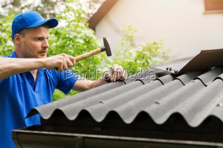 azul casa construcao mao maos ferramenta
