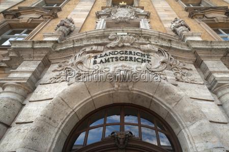 portal da entrada do edificio historico