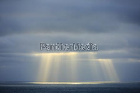 luz africa namibia nuvem raio de