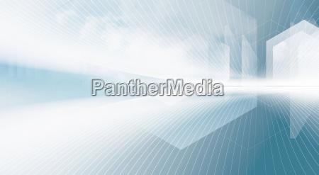 projeto tecnologia ondas linhas abstrato rede