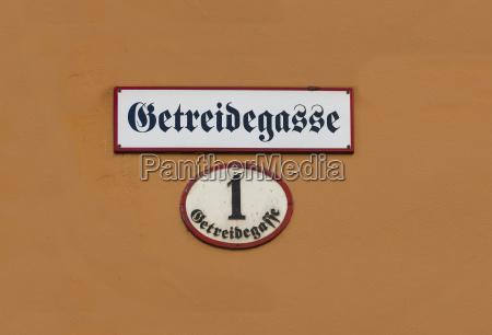 sinal detalhe cidade closeup austria cidade
