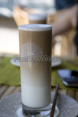 cafe vidro copo de vidro alimento