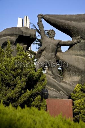 monumento, do, herói, no, parque, de - 25414372