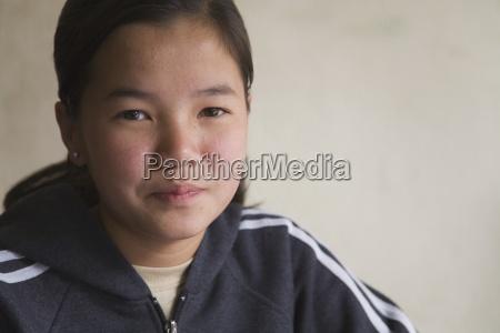 portraet af pige
