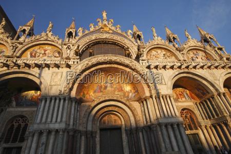 st marks basilica off piazza san