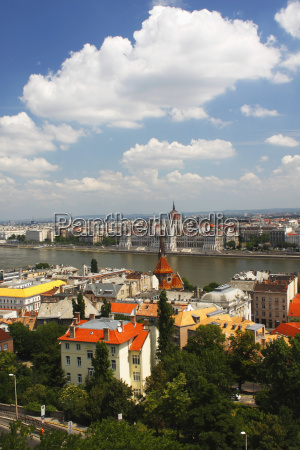 view of danube river through the