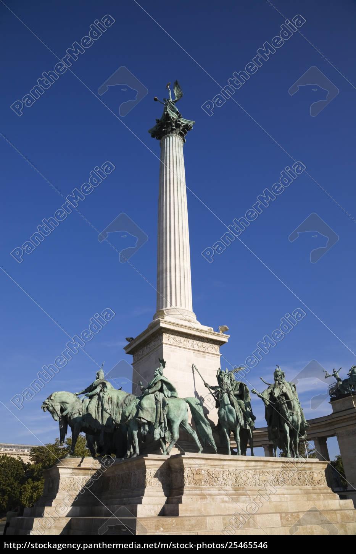 monument, at, hero's, square;, budapest, , hungary - 25465546