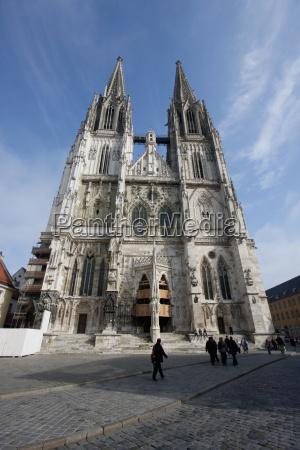 st peters cathedral regensburg bavaria germany