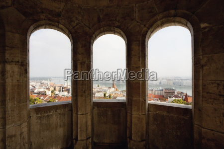 view of budapest as seen through