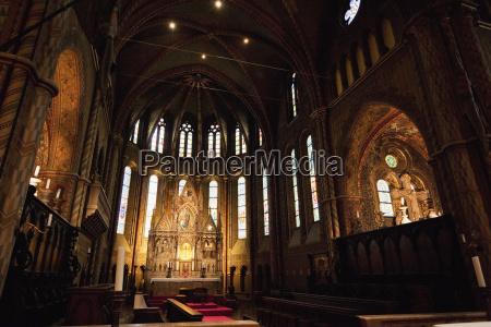 main altar of the matthias church