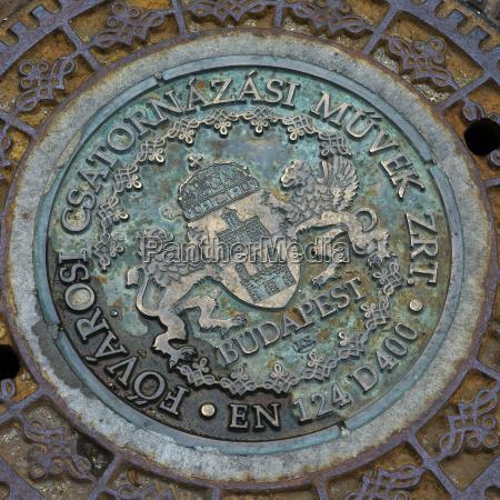 close up detalhe arte simbolico metal