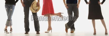 mulher saia pernas pessoas povo homem