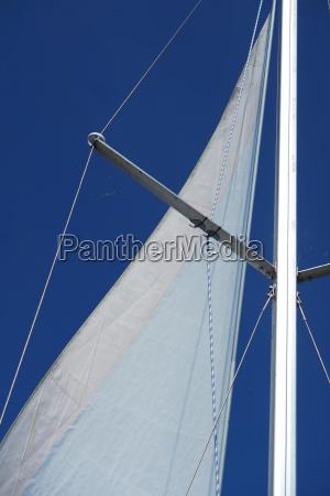 azul detalhe lazer maritimo vela mastro