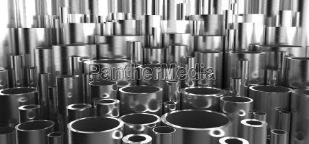 perfil objetos grafico moderno industria industrial