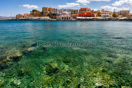 porto antigo chania creta grecia