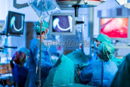 paciente nao identificado submetido a cirurgia