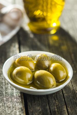 alimento fruta oliva organico componente gramado