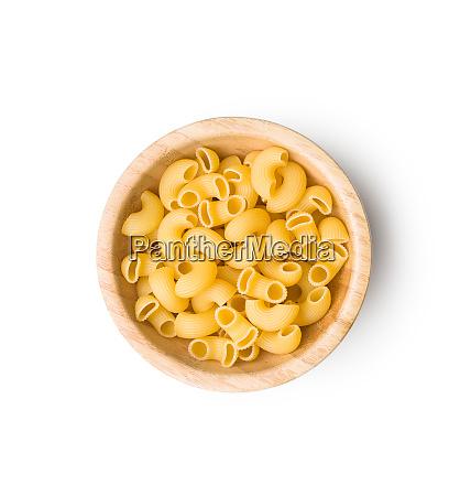 uncooked elbow macaroni