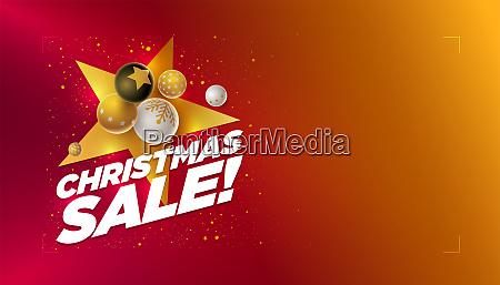 merry christmas sale design
