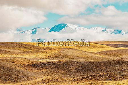 a paisagem cenico da montanha de
