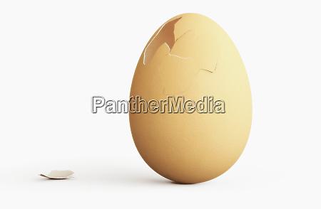 ovo quebrado