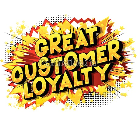 great customer loyalty comic book