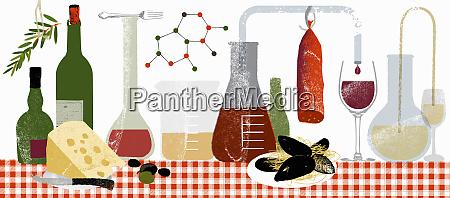 moleculas e experiencias da ciencia com