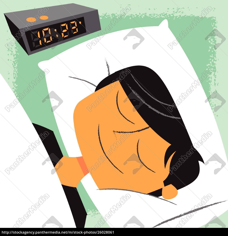 homem, de, sorriso, que, dorme, ao - 26028061