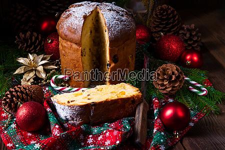 panettone comida natal doce bolo italiano