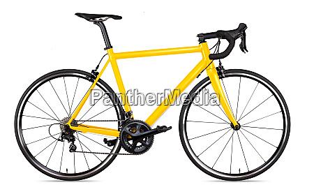 amarelo preto racing sport road bike