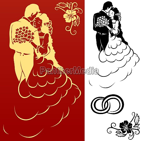 wedding, design, elements - 26053002