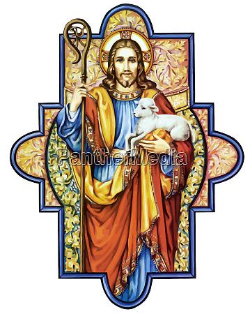 jesus cristo sagrado amor paz fe