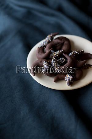 bolinhos do chocolate natal inverno tabela