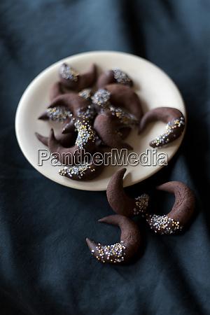 bolinhos de chocolate natal inverno tabela