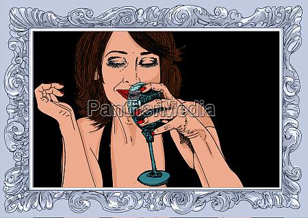 woman erotic linha refinada e