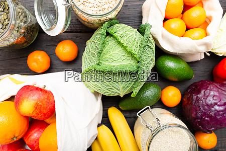 zero compras de lixo alimento pacote