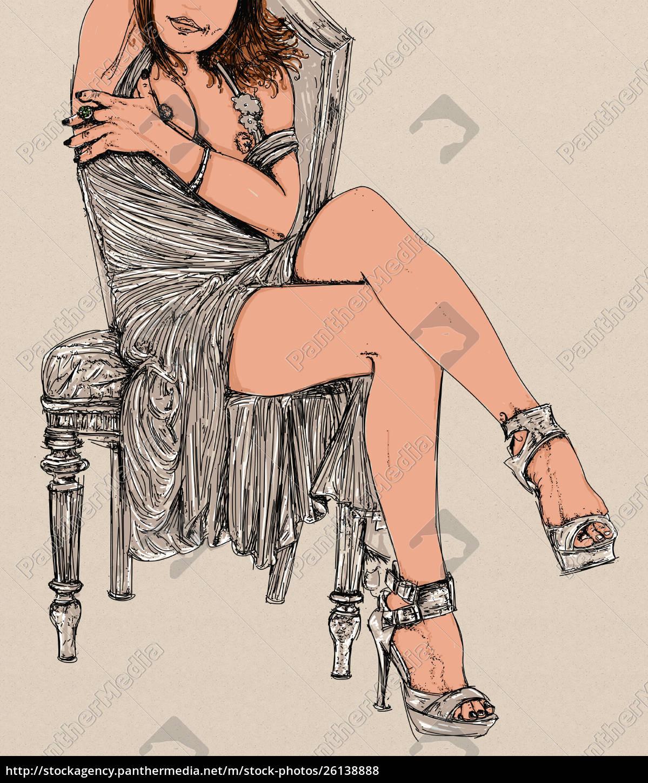 , woman, erotic, , linha, refinada, e - 26138888