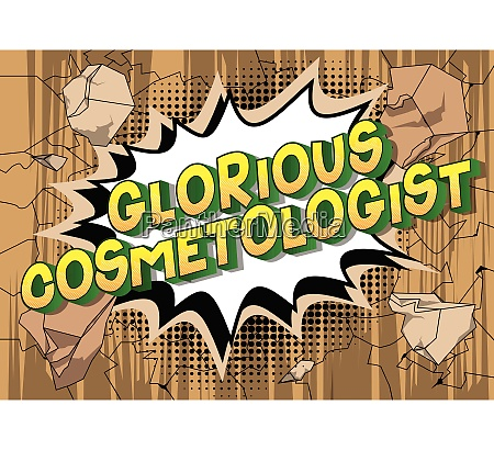 glorious, cosmetologist, -, comic, book, style - 26158180