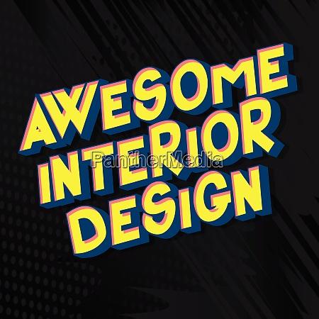 awesome interior design comic book