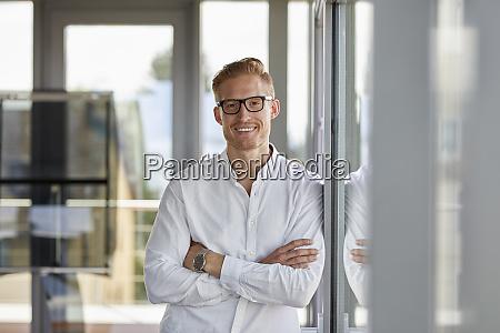 retrato do homem de negocios de